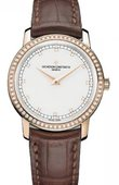 Vacheron Constantin Patrimony Lady 81558/000R-9600 Traditionnelle Small Model Diamond Set Manual Winding