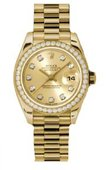 Rolex Datejust Ladies 179138 chdp 26mm Yellow Gold