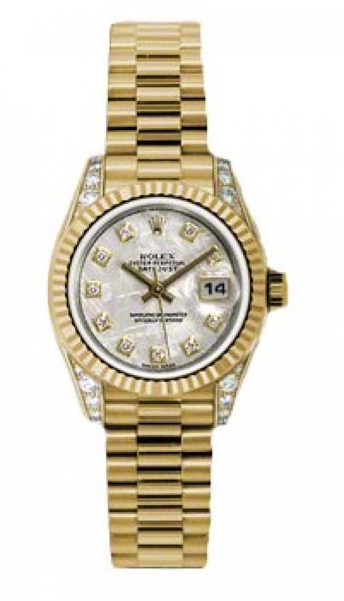 Rolex 179238 mtdp Datejust Ladies 26mm Yellow Gold - фото 1