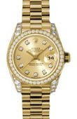 Rolex Datejust Ladies 179158 chdp 26mm Yellow Gold