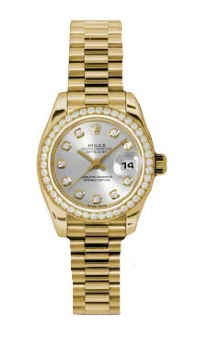 Rolex 179138 sdp Datejust Ladies 26mm Yellow Gold - фото 1