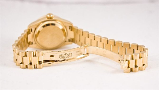 Rolex 179138 sdp Datejust Ladies 26mm Yellow Gold - фото 3