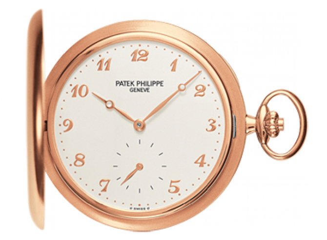 Patek Philippe 980R-001 Pocket Watches  Rose Gold - Men Hunter Pocket Watches - фото 1