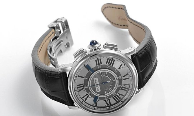 W1556051 Cartier Central Chronograph Rotonde De Cartier