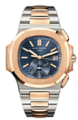 Patek Philippe Nautilus 5980/1AR-001 Stainless Steel and Rose Gold