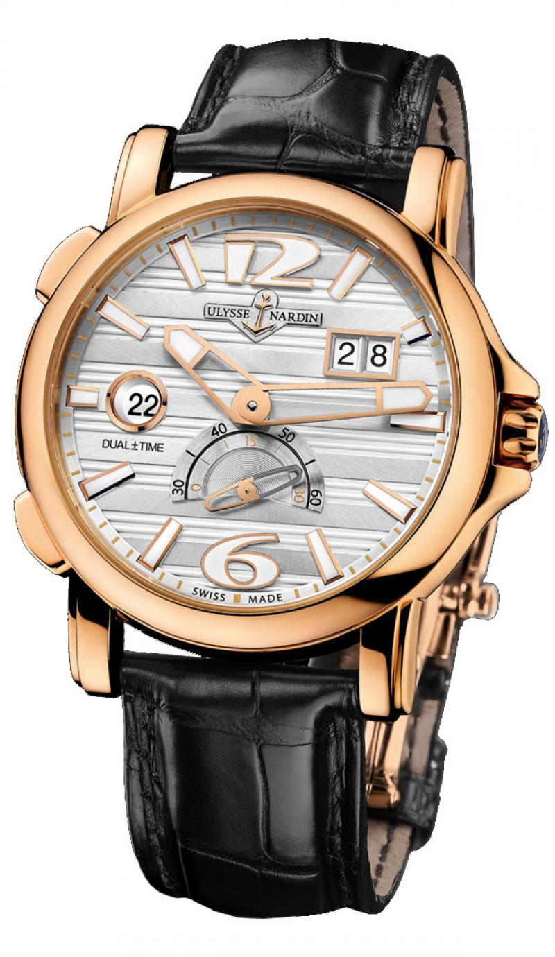 246-55/60 Ulysse Nardin GMT Big Date 42mm Dual Time