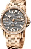 Ulysse Nardin Dual Time 246-55B-8/69 GMT Big Date 42mm