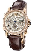 Ulysse Nardin Dual Time 246-55B/30 GMT Big Date 42mm
