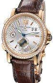Ulysse Nardin Dual Time 246-55B/31 GMT Big Date 42mm