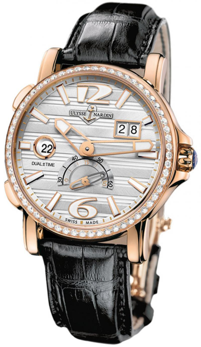 246-55B/60 Ulysse Nardin GMT Big Date 42mm Dual Time
