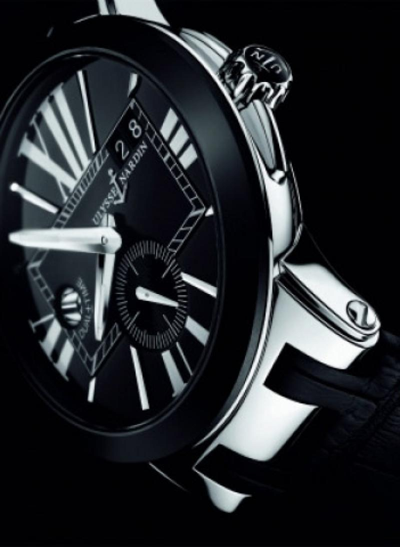 243-00-3/42 Ulysse Nardin 43mm Executive Dual Time