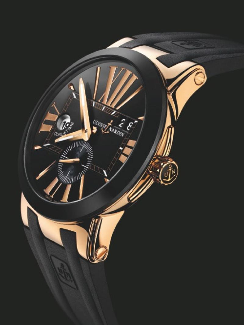 246-00-3/42 Ulysse Nardin 43mm Executive Dual Time
