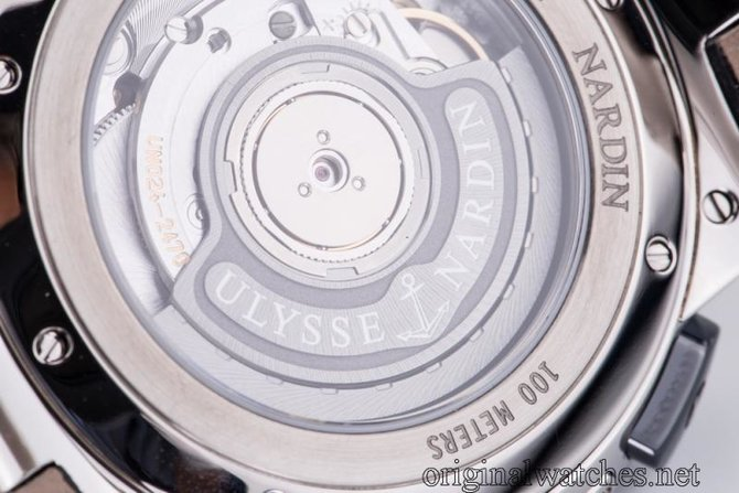243-00/43 Ulysse Nardin 43mm Executive Dual Time