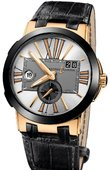 Ulysse Nardin Executive Dual Time 246-00/421 Executive Dual Time 43mm