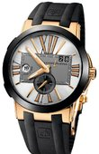 Ulysse Nardin Executive Dual Time 246-00-3/421 Executive Dual Time 43mm
