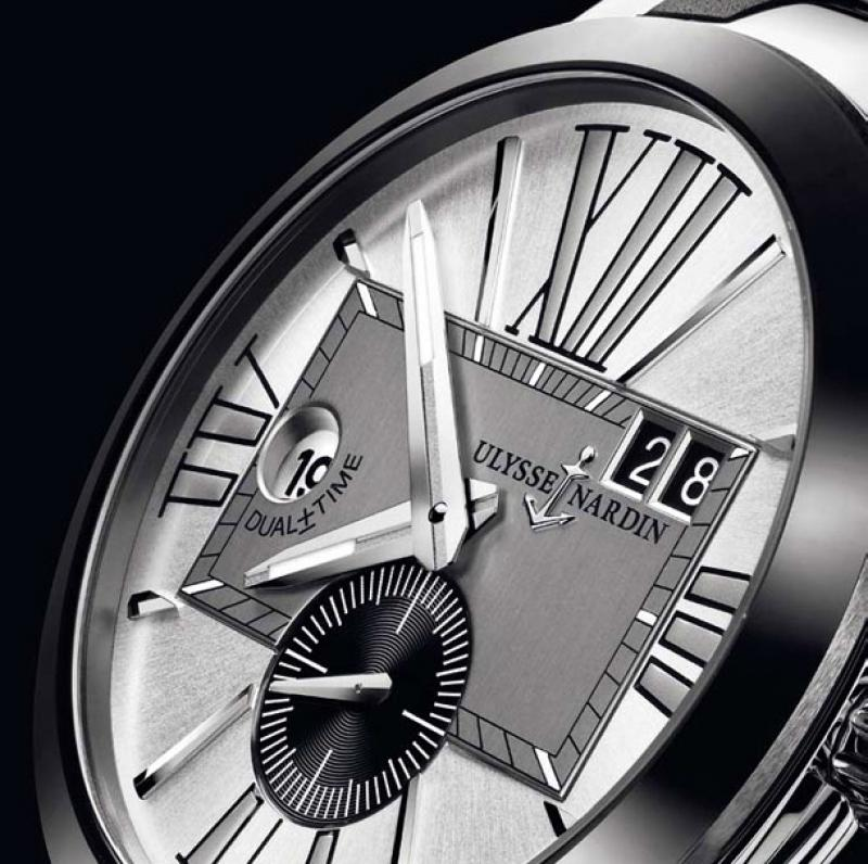 243-00-3/421 Ulysse Nardin Executive Dual Time 43mm Executive Dual Time
