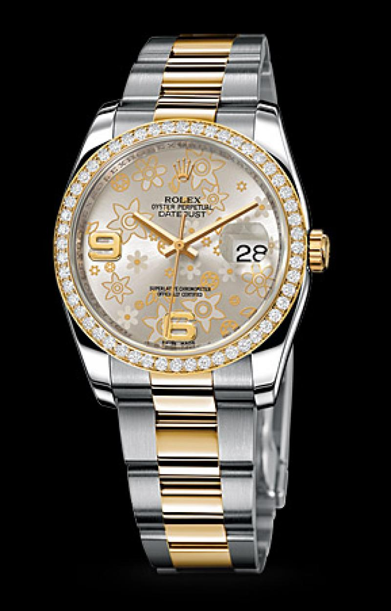 M116243-0008 Rolex Datejust 36mm - Steel and Yellow Gold Datejust Ladies