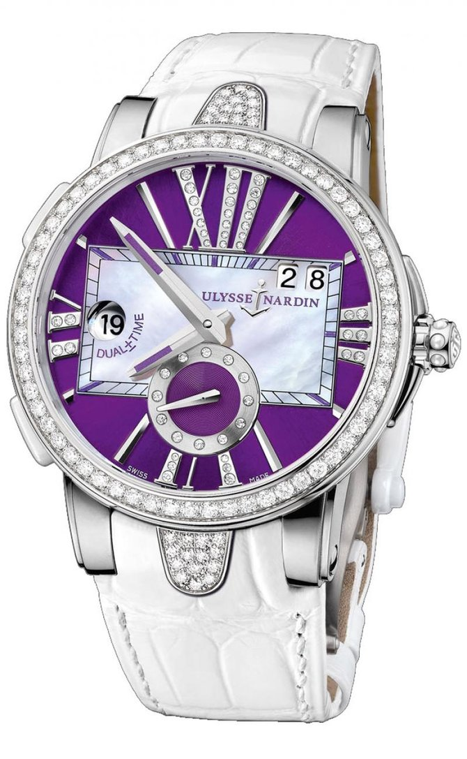 243-10B/30-07 Ulysse Nardin Executive Dual Time Lady Executive Dual Time Lady