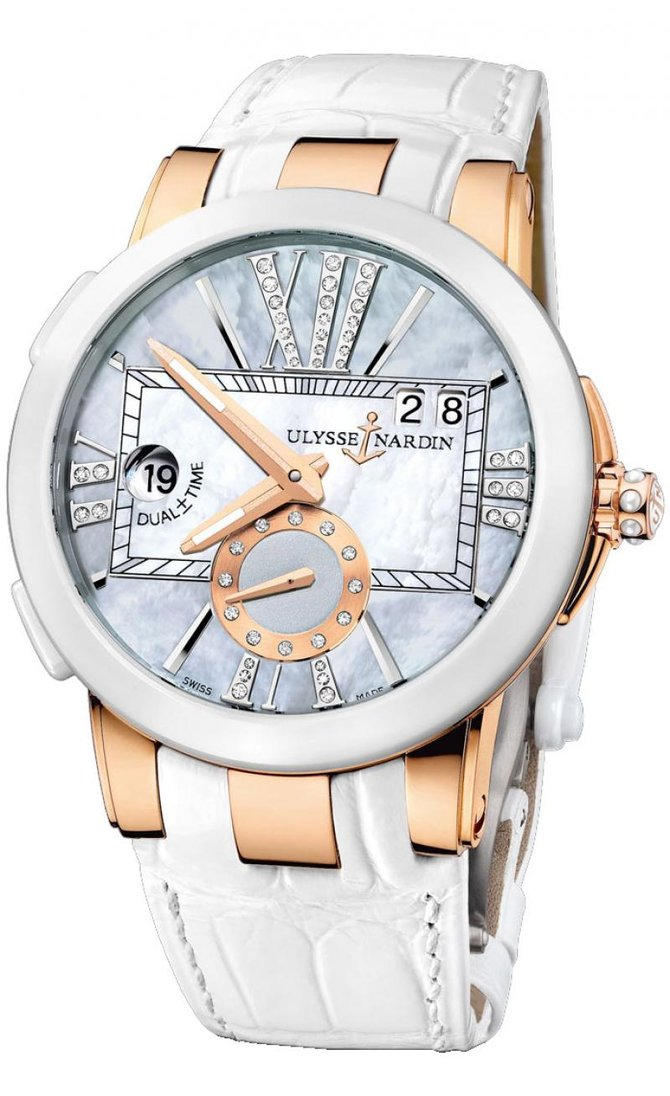 246-10/392 Ulysse Nardin Executive Dual Time Lady Executive Dual Time Lady