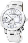 Ulysse Nardin Executive Dual Time Lady 243-10/391 Steel