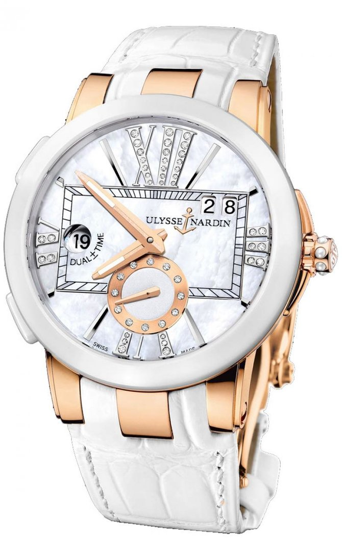246-10/391 Ulysse Nardin Executive Dual Time Lady Executive Dual Time Lady