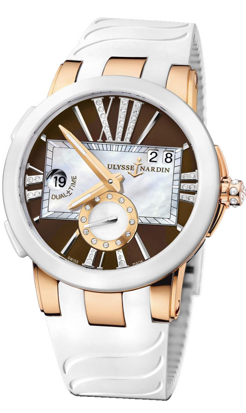 246-10-3/30-05 Ulysse Nardin Executive Dual Time Lady Executive Dual Time Lady