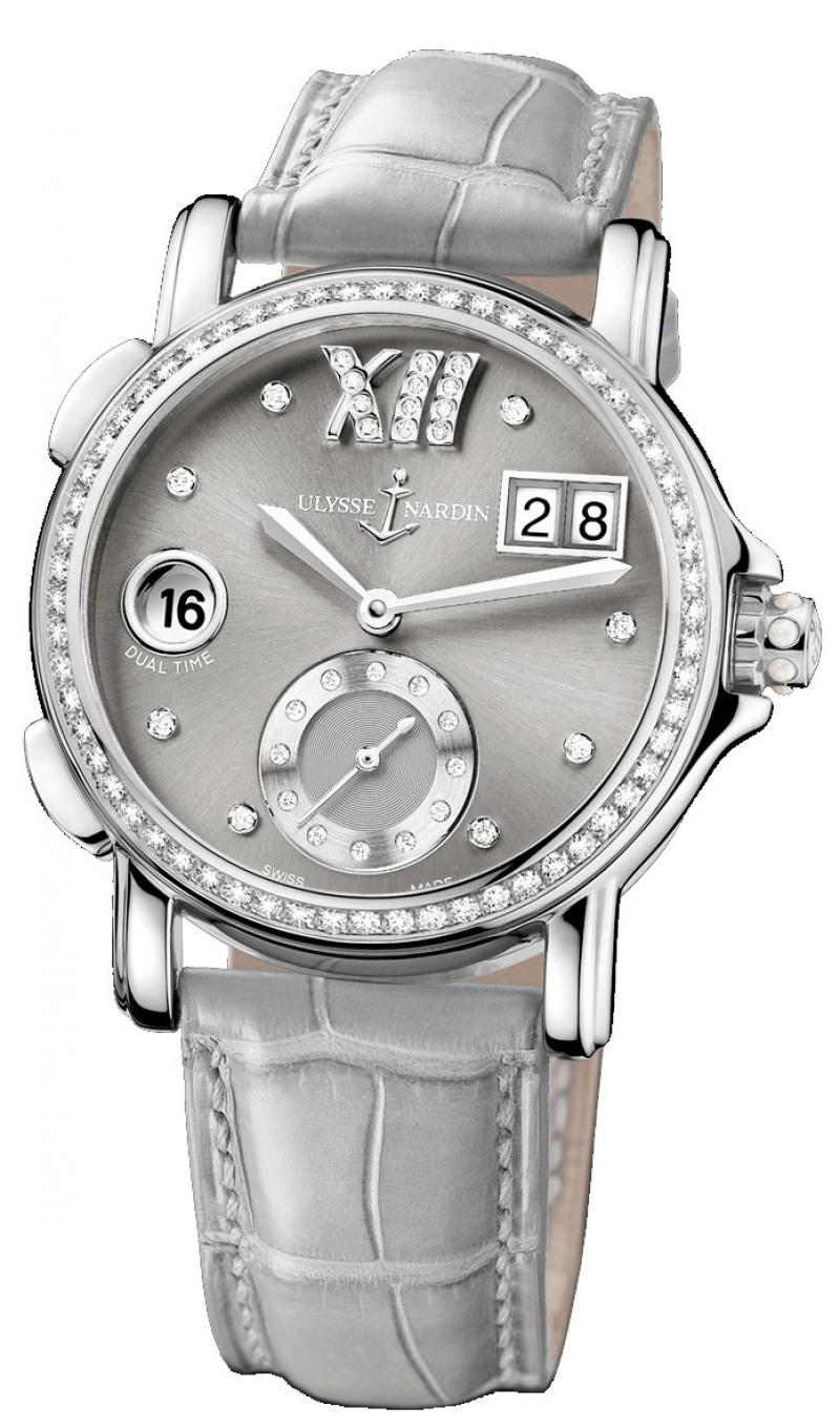 243-22B/30-02 Ulysse Nardin GMT Big Date 37mm Dual Time Ladies