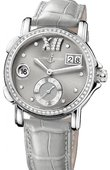 Ulysse Nardin Dual Time Ladies 243-22B/30-02 GMT Big Date 37mm