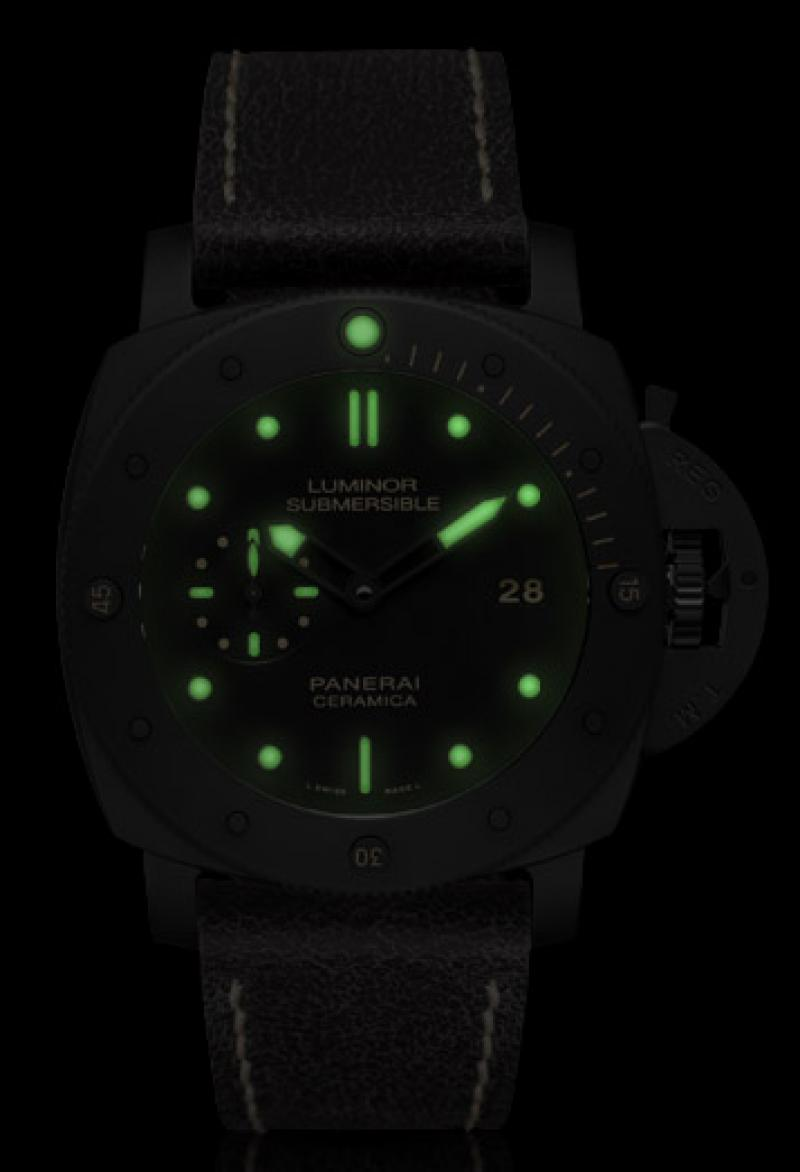 PAM00508 Officine Panerai Luminor Submersible 1950 3 Days Automatic Ceramica Special Editions