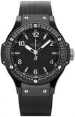 Hublot Big Bang 38mm Ladies 361.CD.1270.RX.1900 Black Ceramic Black Magic Carat