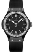 Hublot Big Bang 38mm Ladies 361.CV.1270.RX.1104 Black Ceramic Black Magic Diamonds