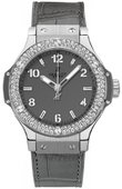 Hublot Big Bang 38mm Ladies 361.ST.5010.LR.1104 Earl Gray Steel