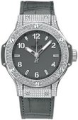 Hublot Big Bang 38mm Ladies 361.ST.5010.LR.1704 Earl Gray Steel