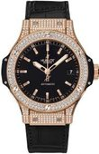 Hublot Big Bang 38mm Ladies 365.PX.1180.LR.1704 Red Gold Diamonds