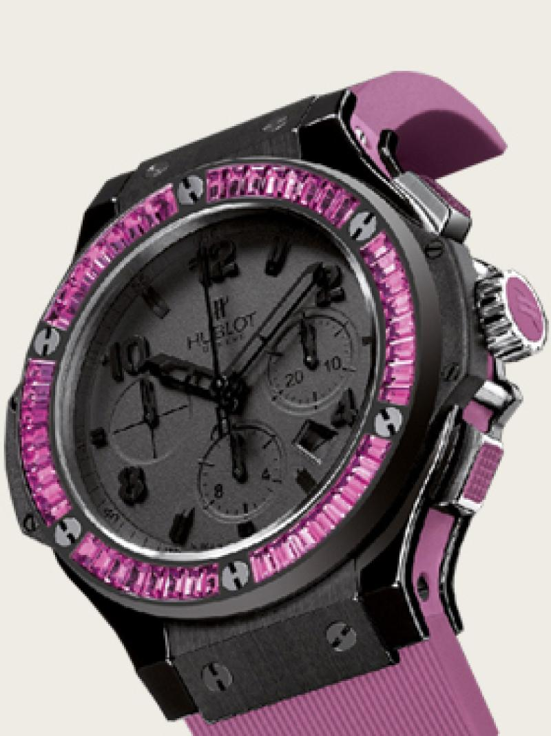 341.CX.1110.RV.1905 Hublot Tutti Frutti Big Bang Black Big Bang 41mm Ladies