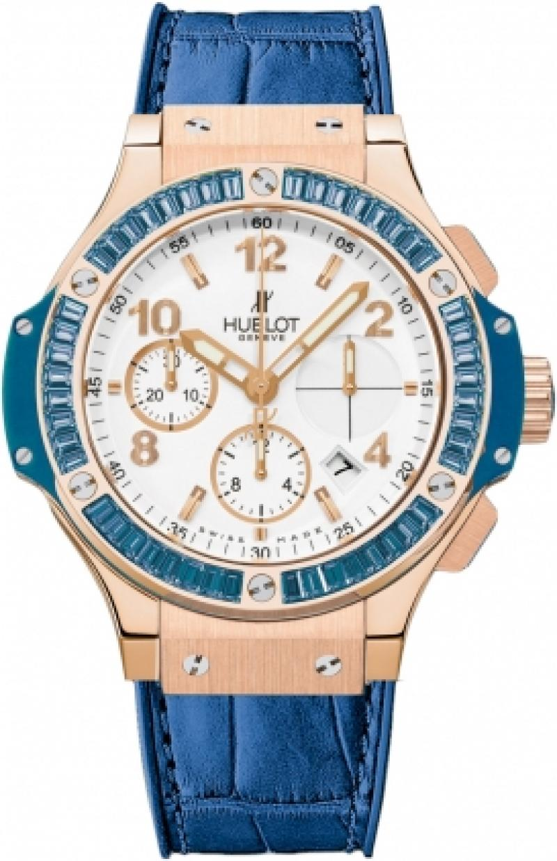 341.PL.2010.LR.1907 Hublot Tutti Frutti Big Bang Gold Big Bang 41mm Ladies