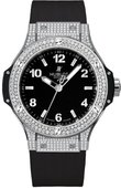 Hublot Big Bang 38mm Ladies 361.SX.1270.RX.1704 Steel Diamonds