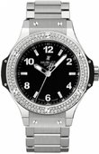 Hublot Big Bang 38mm Ladies 361.SX.1270.SX.1104 Steel Diamonds