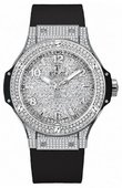 Hublot Big Bang 38mm Ladies 361.SX.9010.RX.1704 Steel Diamonds