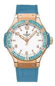 Hublot Big Bang 38mm Ladies 361.PL.2010.LR.1907 Tutti Frutti Big Bang Gold
