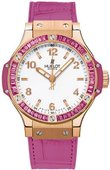 Hublot Big Bang 38mm Ladies 361.PP.2010.LR.1933 Tutti Frutti Big Bang Gold