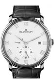 Blancpain Villeret 6606-1127-55B Ultra-Slim Hand-Winding 40mm Small Seconds Power Reserve