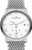 Blancpain Villeret 6606-1127-MMB Ultra-Slim Hand-Winding 40mm Small Seconds Power Reserve