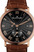 Blancpain Villeret 6606-3630-55B Ultra-Slim Hand-Winding 40mm Small Seconds Power Reserve