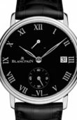 Blancpain Villeret 6614-3437-55B Manual Winding Power Reserve '8 Jours'