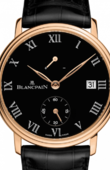 Blancpain Villeret 6614-3637-55B Manual Winding Power Reserve '8 Jours'