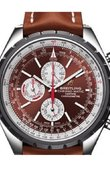 Breitling Chrono-Matic SS-Brown&Silver_BrLeath 1461