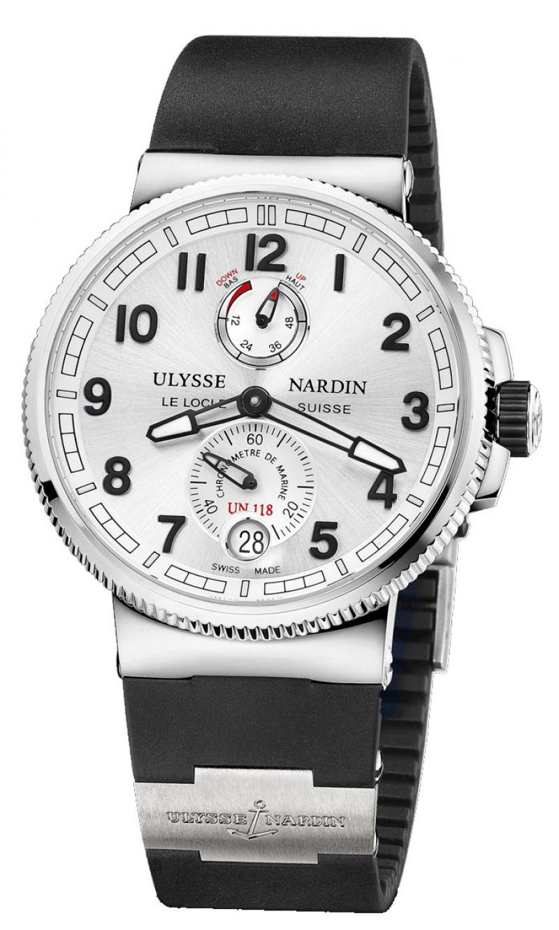 1183-126-3/61 Ulysse Nardin Chronometer 43 mm Steel Marine Manufacture