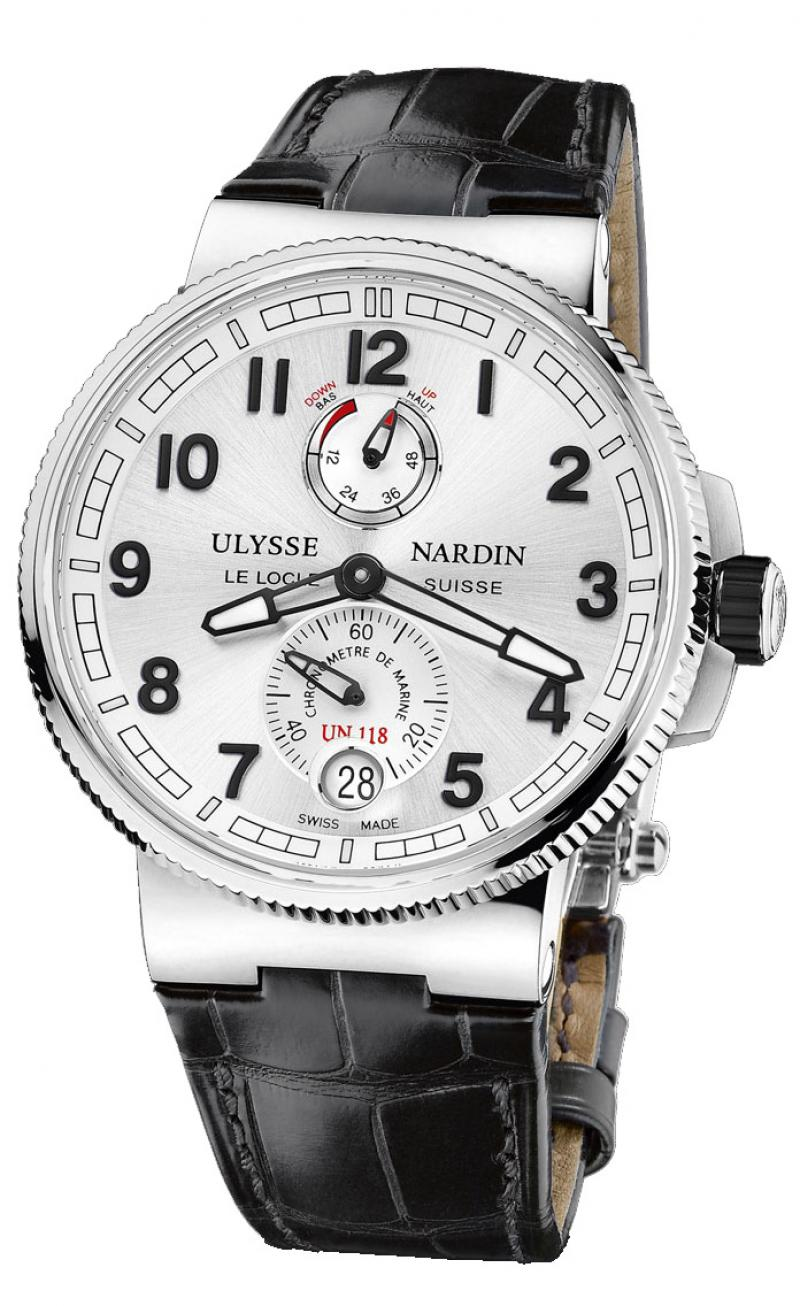 1183-126/61 Ulysse Nardin Chronometer 43 mm Steel Marine Manufacture