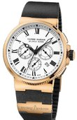 Ulysse Nardin Marine Manufacture 1506-150LE-3 RG 43mm Limited Edition 150